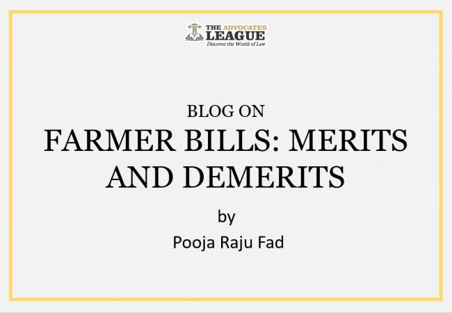FARMER BILLS: MERITS AND DEMERITS