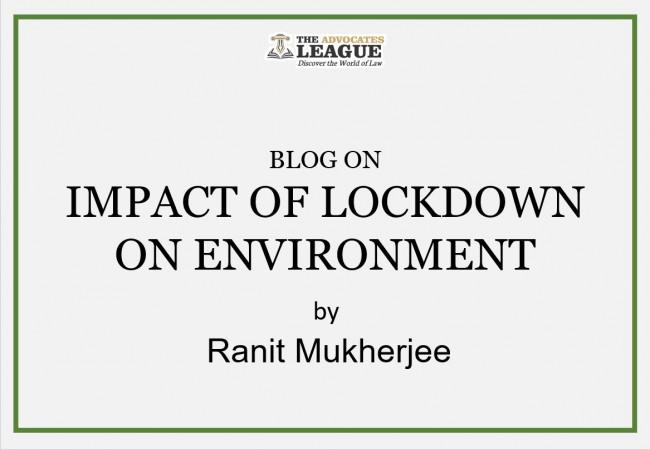 IMPACT OF LOCKDOWN ON ENVIRONMENT
